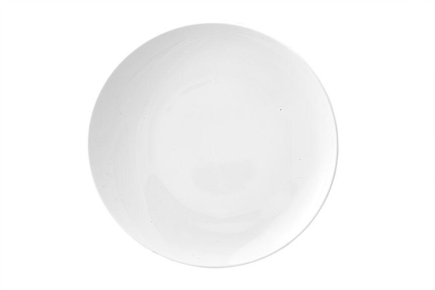 Тарелка Ariane Коуп, диаметр 27 см115510Тарелка Ariane Коуп, изготовленная из высококачественного фарфора, имеет классическую круглую форму. Такая тарелка отлично подойдет в качестве блюда для закусок и нарезок, а также для подачи различных десертов. Изделие прекрасно впишется в интерьер вашей кухни и станет достойным дополнением к кухонному инвентарю. Тарелка Ariane Коуп подчеркнет прекрасный вкус хозяйки и станет отличным подарком.Можно мыть в посудомоечной машине и использовать в микроволновой печи.Диаметр тарелки: 27 см.