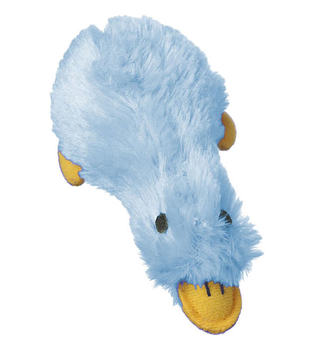 Игрушка для животных Multipet Утка, с пищалкой, цвет: голубой0120710Игрушка Multipet Утка, изготовленная из искусственного меха, предназначена для собак и кошек различных пород. Игрушка при надавливании или захвате пастью пищит. Такая игрушка порадует вашего любимца, а вам доставит массу приятных эмоций, ведь наблюдать за игрой всегда интересно и приятно.