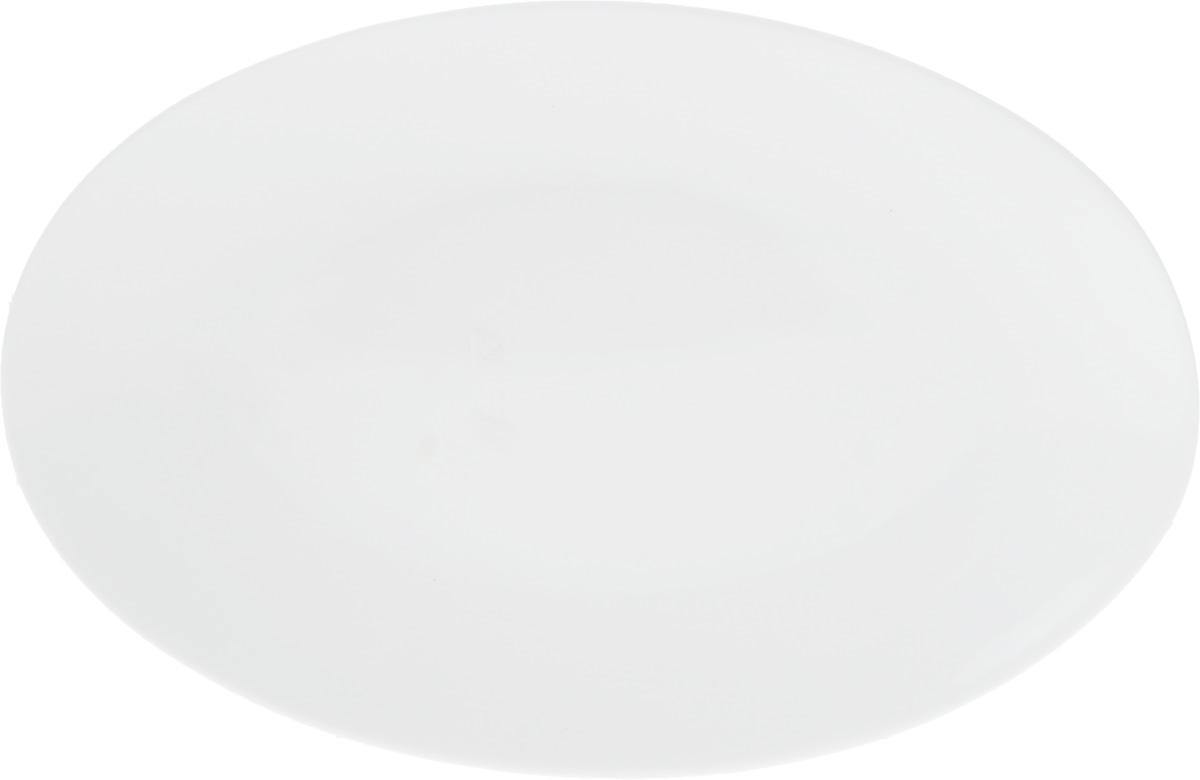 Блюдо Wilmax, 25,5 х 17 смWL-992021 / AОригинальное овальное блюдо Wilmax, изготовленное из фарфора с глазурованным покрытием, прекрасно подойдет для подачи нарезок, закусок и других блюд. Оно украсит ваш кухонный стол, а также станет замечательным подарком к любому празднику. Размер блюда: 25,5 х 17 см.