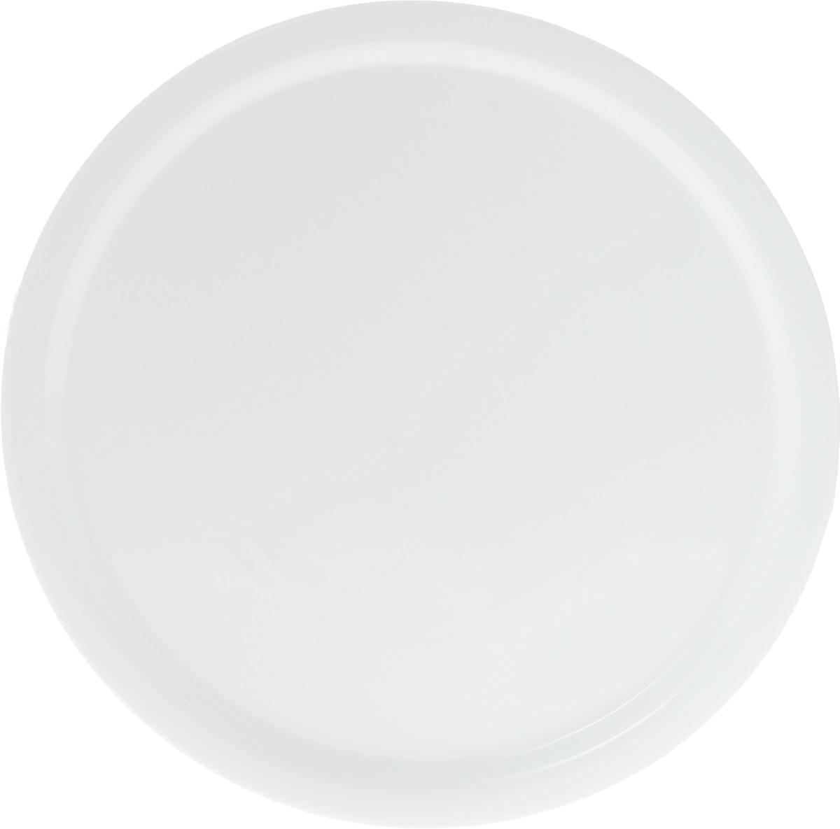 Блюдо для пиццы Wilmax, диаметр 35,5 смCM000001328Оригинальное круглое блюдо Wilmax, изготовленное из фарфора с глазурованным покрытием, идеально подойдет для подачи пиццы, а также других блюд. Оно украсит ваш кухонный стол, а также станет замечательным подарком к любому празднику.