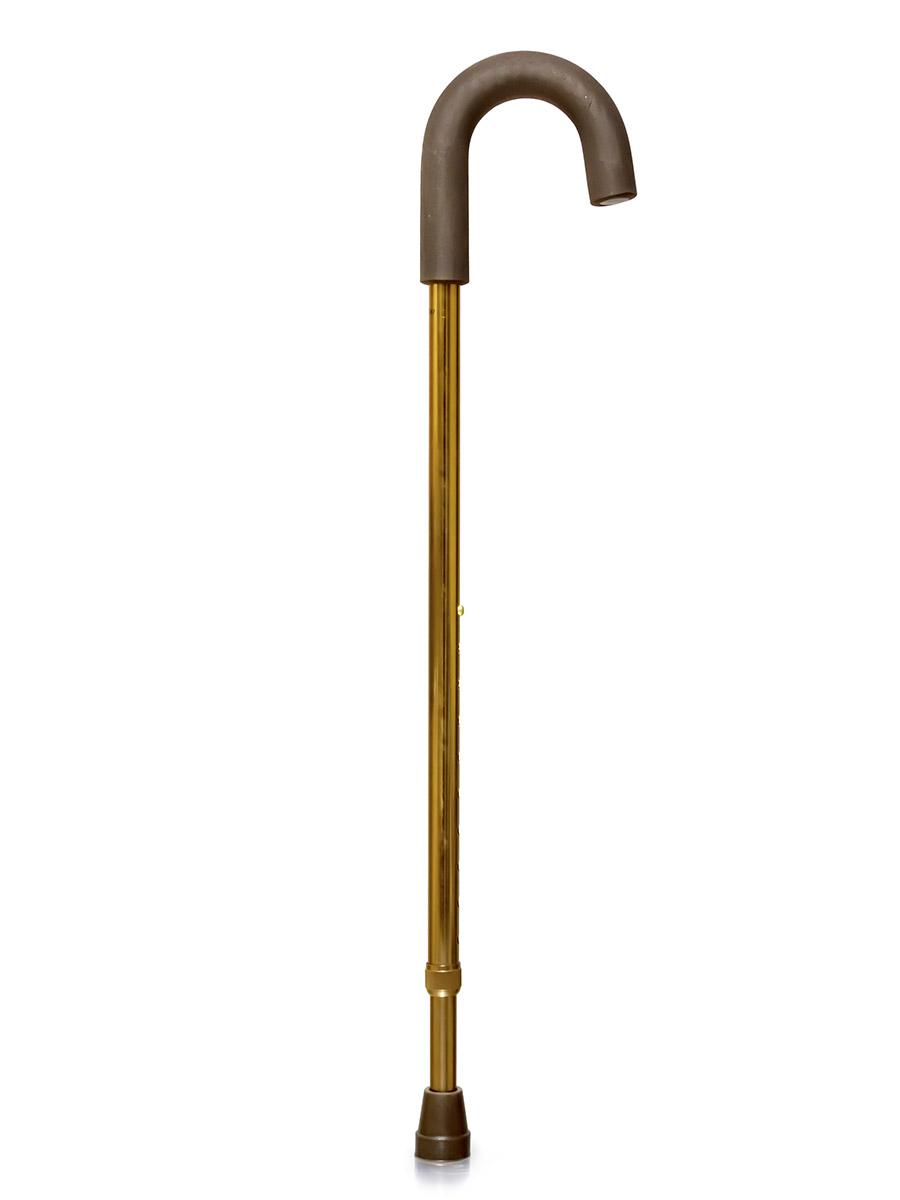 Amrus Трость телескопическая металлическая с закругленной рукояткой AMCС31