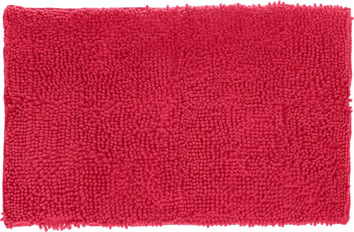 Коврик для ванной комнаты Top Star, цвет: ярко-розовый, 80 х 50 см291532_ярко-розовыйКоврик Top Star, выполненный из 100% полиэстера, с высоким ворсом и противоскользящей пропиткой прекрасно подходит для ванной комнаты. Он мягкий и приятный на ощупь, отлично впитывает влагу и быстро сохнет. Высокая износостойкость коврика и стойкость цвета позволит наслаждаться изделием долгие годы. Рекомендации по уходу: - можно стирать в стиральной машине при 40°С, - не использовать отбеливатели, - не гладить, - барабанная сушка запрещена.