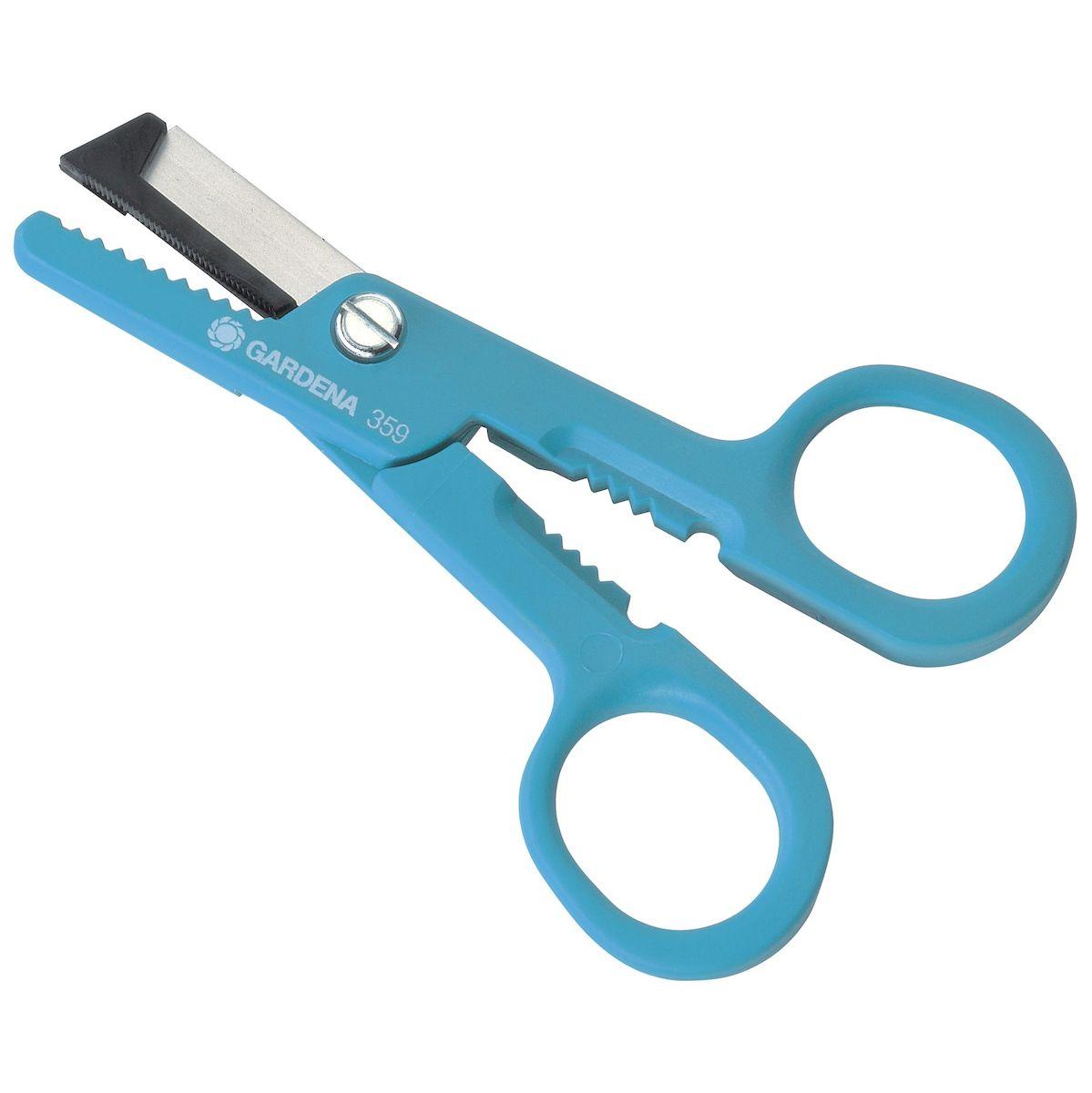 Gardena Ножницы для роз, 21 см00359-20.000.00Одни ножницы - четыре функции. Для резки/ захвата/ удаления шипов/ смятия черенков. Общая длина 210мм. Ножи из высококачественной нержавеющей стали.