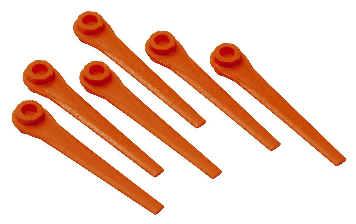 Лезвия запасные Gardena для триммера AccuCut 400 Li, AccuCut 450 Li и AccuCut531-401Ножи запасные Gardena предназначены для турботриммеров AccuCut 400 Li, AccuCut 450 Li и AccuCut. Замена ножа выполняется очень легко. В одном комплекте 20 ножей. При своевременной замене ножа результаты кошения всегда высоки.