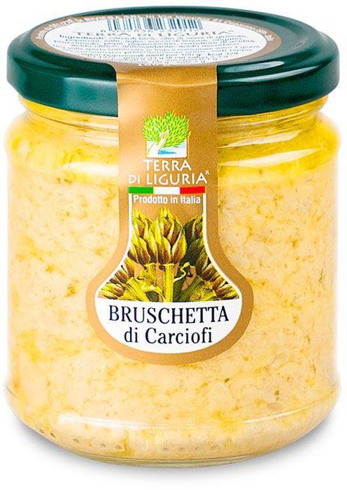 Terra di Liguria паштет из артишоков брускетта, 180 г BRCARTDL