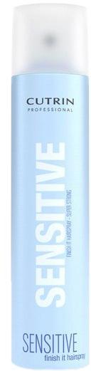 Cutrin Лак экстра-сильной фиксации без отдушки Fragrance Free Finish It Hair Spray Super Strong, 300 мл12686/9786Обеспечивает максимальный уровень фиксации укладки. Быстро высыхает, легко удаляется при расчесывании. Содержит ингредиенты, защищающие волосы от негативных внешних воздействий, в том числе повышенной влажности. За счет отсутствия отдушки не оказывает раздражающего воздействия на органы дыхания.