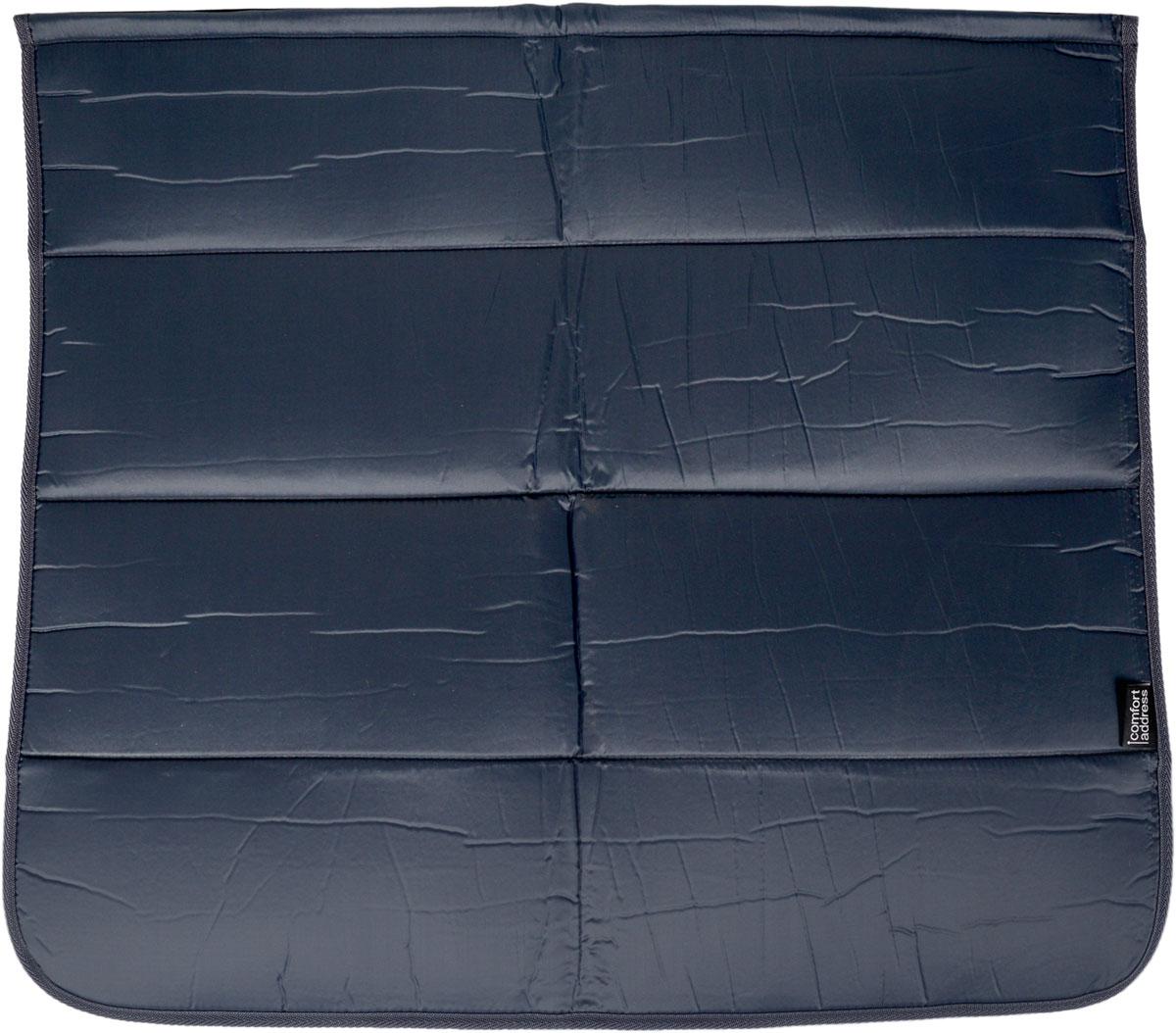 Накидка на бампер Comfort Adress, цвет: серый, 75 х 65 смdaf 007_серыйНакидка на бампер Comfort Adress предназначена для защиты одежды от грязи при погрузке или выгрузке вещей из багажника, при работе в моторном отсеке, во время долива масла или незамерзающей жидкости. Также накидку можно использовать при установке домкрата и замене колеса. - Универсальна и проста в установке. - Крепится при помощи липучки. - В сложенном виде занимает всего лишь 15 см. - Обладает водоотталкивающими свойствами, проста в чистке.