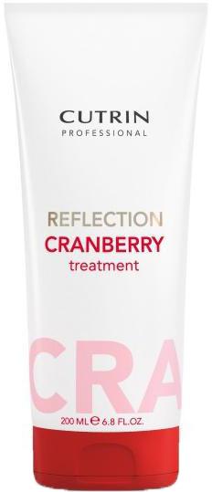 Cutrin Тонирующая маска для поддержания цвета волос Reflection Cranberry Red Treatment, красная клюква, 200 мл54235Оттеночная маска - лучший способ сохранить и усилить цвет окрашенных волос в период между посещениями салона. Большое количество красящих пигментов позволит поддерживать насыщенный цвет и блеск окрашенных волос в течение максимально долгого периода времени.