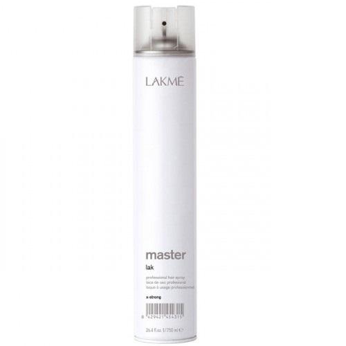 Lakme Лак для волос экстра сильной фиксации Lak X-Strong, 750 мл45431Лак для волос экстра сильной фиксации Lakme Master Lak X - Strong - профессиональный лак для создания причесок из длинных волос, вечерних причесок и акцентирования прядей. Обеспечивает сильную фиксацию, не склеивая волосы. Предохраняет волосы от воздействия влаги и внешних агрессивных факторов. Легко удаляется при расчесывании. Не оставляет налета. Экономичен в использовании.