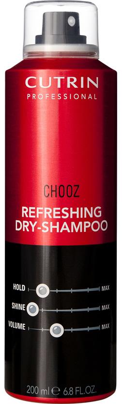 Cutrin Сухой шампунь Chooz Refreshing Dry-Shampoo, 200 млCUG10-12773Cutrin Chooz Refreshing Dry - Shampoo Сухой шампунь уникальное профессиональное ухаживающее средство для любого типа волос. Предназначено для сухого очищения без использования воды, придает невероятное чувство чистоты и свежести, делает волосы красивыми, естественно ухоженными в перерывах между обычным мытьем. Не утяжеляет волосы, совершенно не оставляет никаких следов, подходит как для темных, так и окрашенных или мелированных волос. Абсорбенты природного происхождения бережно устраняют с волос загрязнения и жирный налет, в результате чего волосы приобретают естественный сияющий блеск и красивый ухоженный вид. Cutrin Chooz Refreshing Dry-Shampoo это невероятно роскошные волосы без проблем всего за несколько минут! Будьте всегда очаровательны и уверенны в себе!