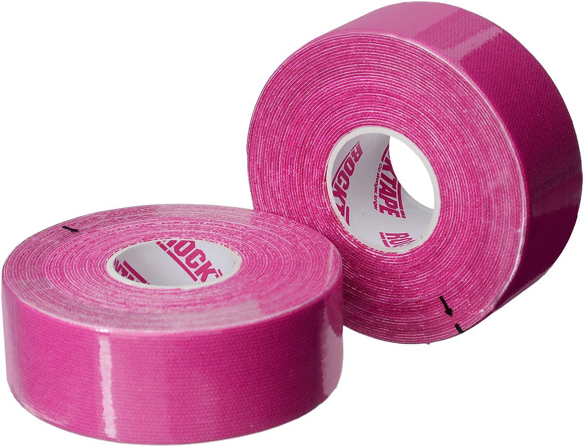 Кинезиотейп Rocktape Digit, цвет: розовый, 2,5 x 500 см, 2 штRCT100-PK-DTКинезиотейп Rocktape Digit, выполненный из хлопка и нейлона, предназначен для снятия отеков и рассасывания гематом. Уменьшает мышечную усталость и способствует притоку крови для более быстрого восстановления. Изделие имеет плотную волнообразную структуру ткани, водостойкий. Кинезиотейп носится до 5 дней, не теряя своих свойств. 180-190% эластичности.