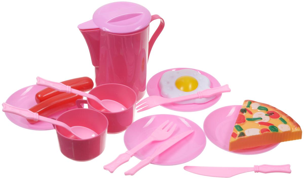 Подробнее о ABtoys Игрушечный кухонный набор 16 предметов abtoys игрушечный набор инструментов 26 предметов