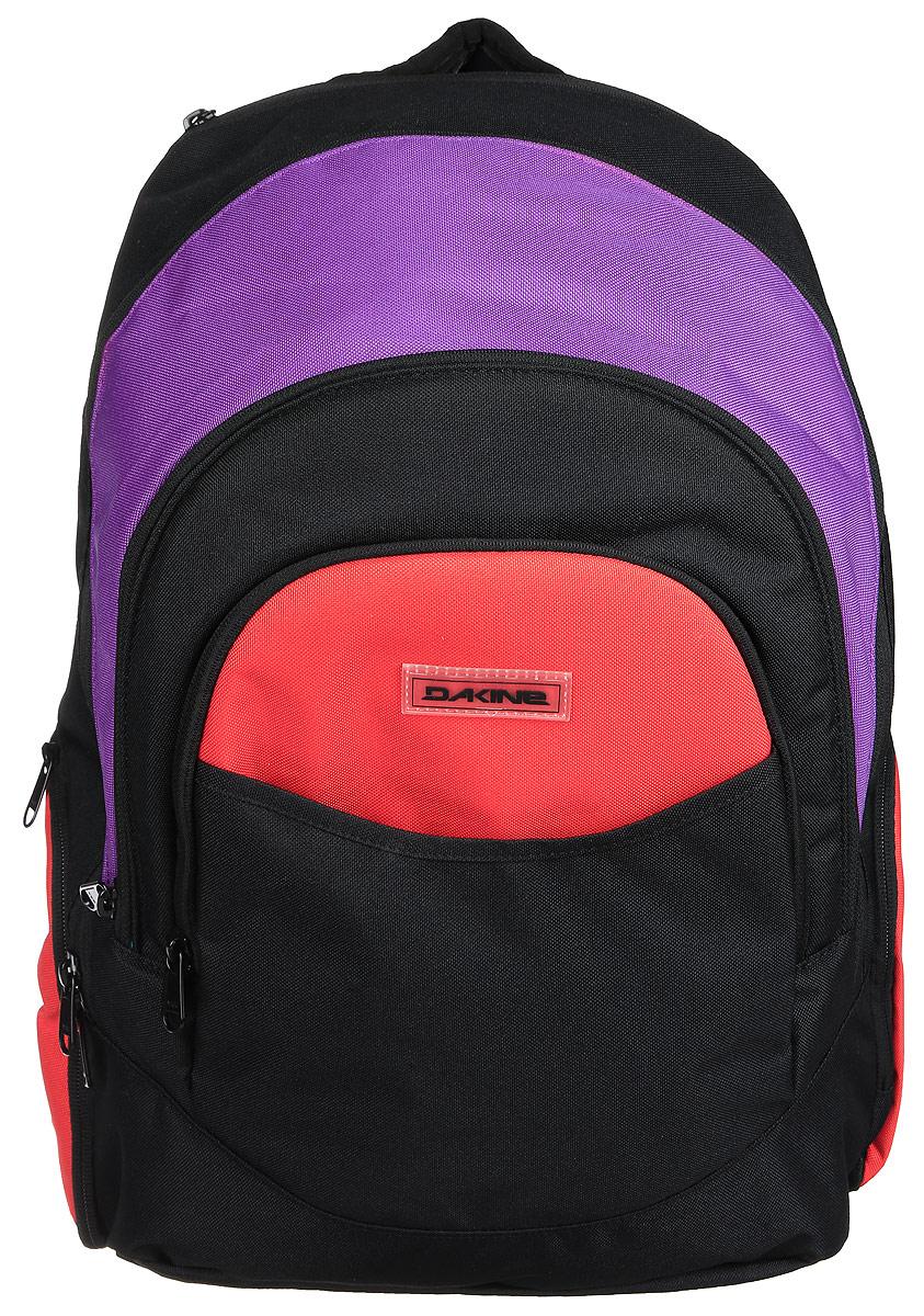 Рюкзак женский Dakine DK PROM 25L POP. 08210025ЛЦ0002Городской женский рюкзак с отделением для ноутбука ( до 14) Карман для очков из мягкого флиса, карман-органайзер, карман-термос, боковой карман для бутылки с водой.