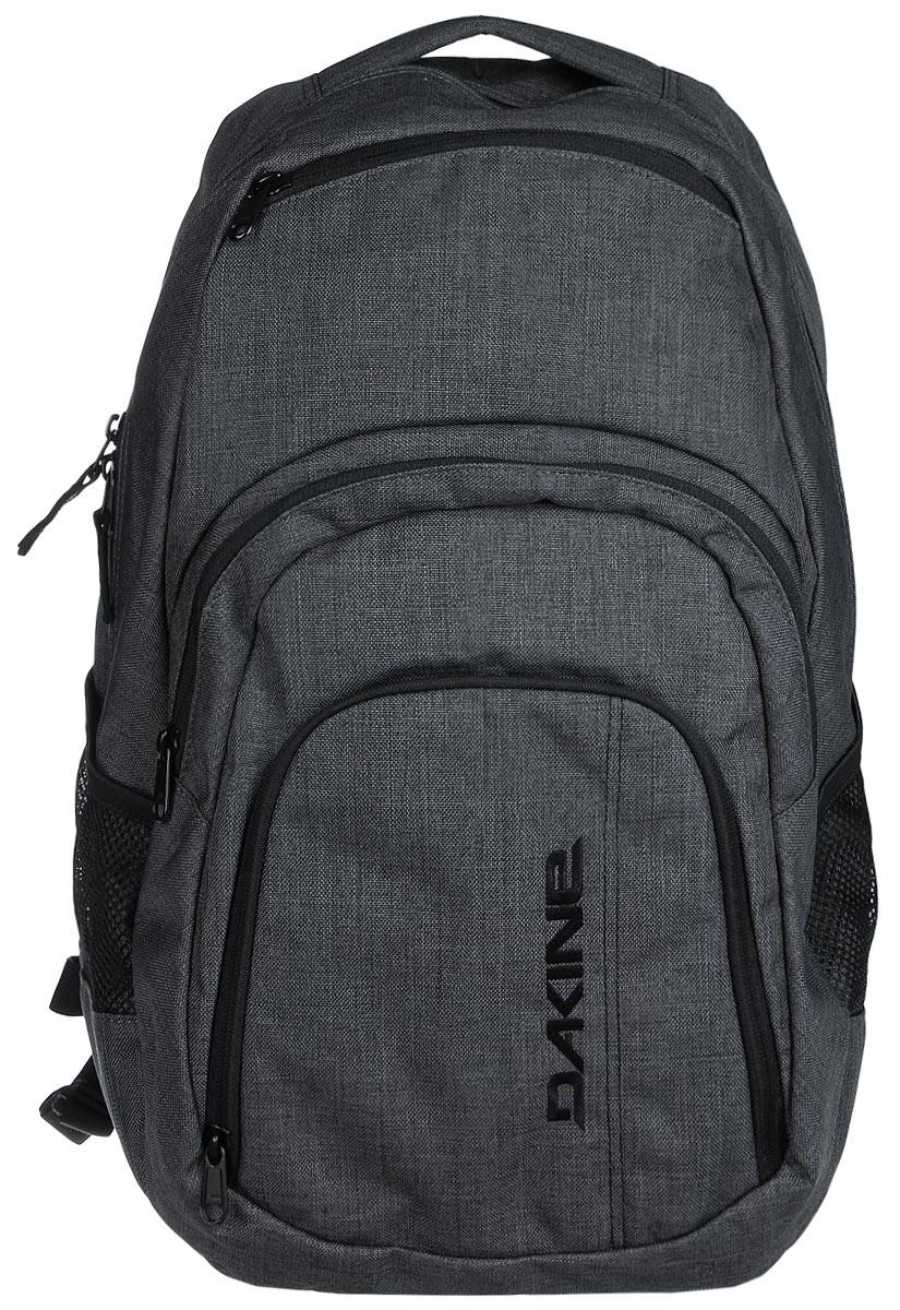 Рюкзак Dakine W16 DK CAMPUS 33L CARBON. 8130057BP-001 BKГородской рюкзак с отделением для ноутбука ( до 15). Карман-органайзер, карман-термос, карман-сетка снаружи. Карман для очков из мягкого флиса.