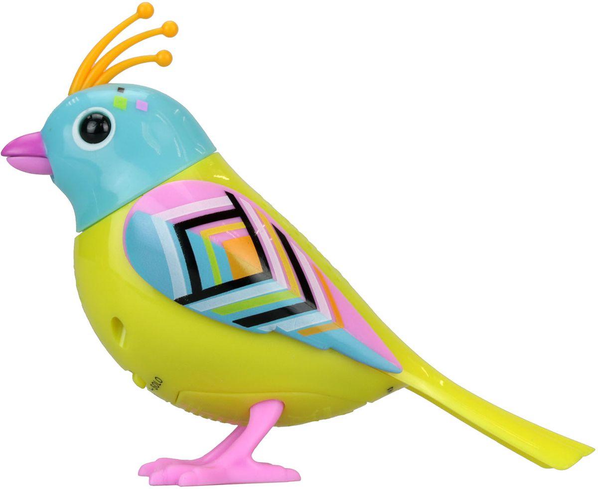 DigiBirds Интерактивная игрушка Птичка с кольцом 88286-6 silverlit digibirds пингвин фигурист с кольцом серый