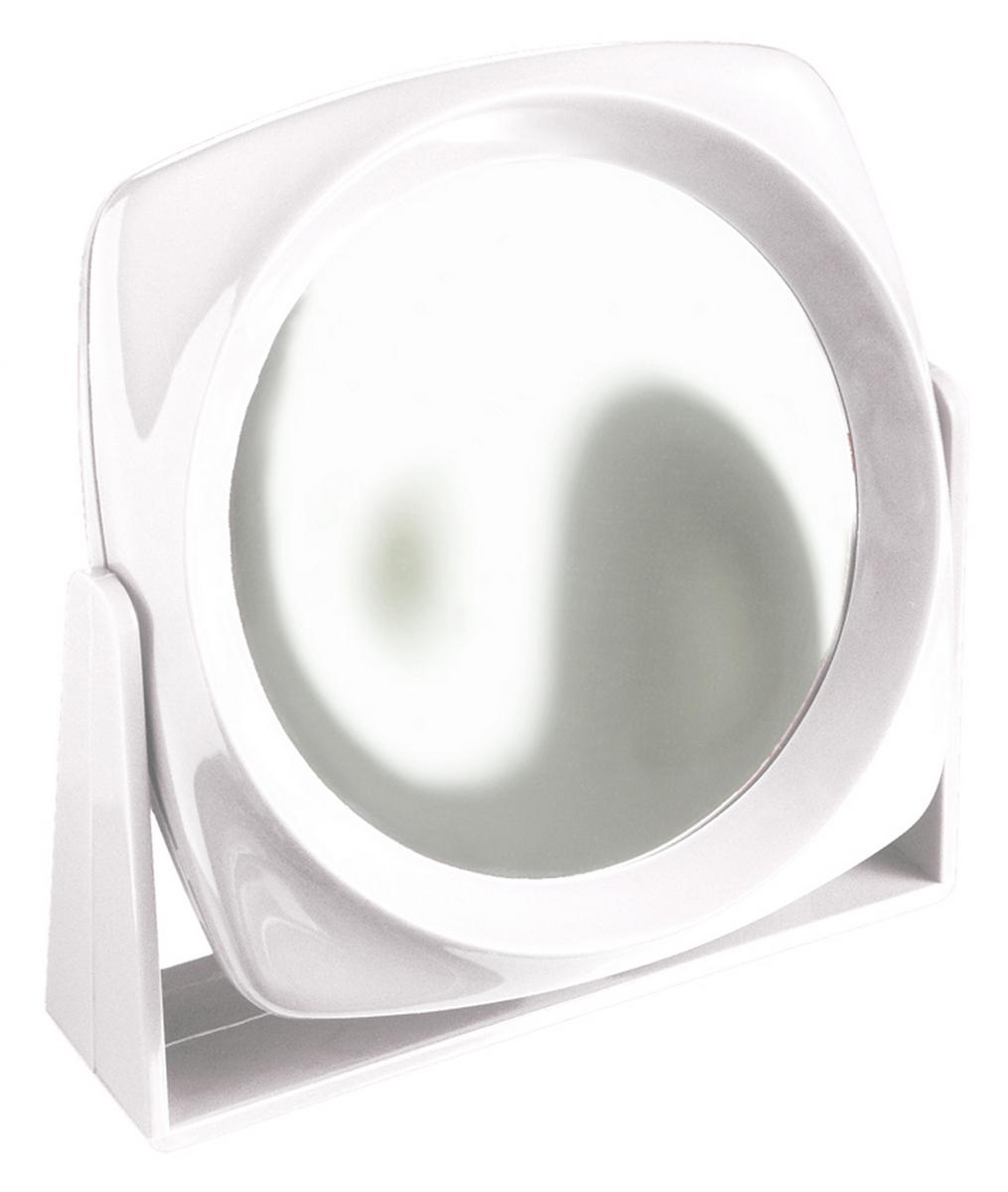 Silva Зеркало настольное, круглое, цвет: белый SZ 583