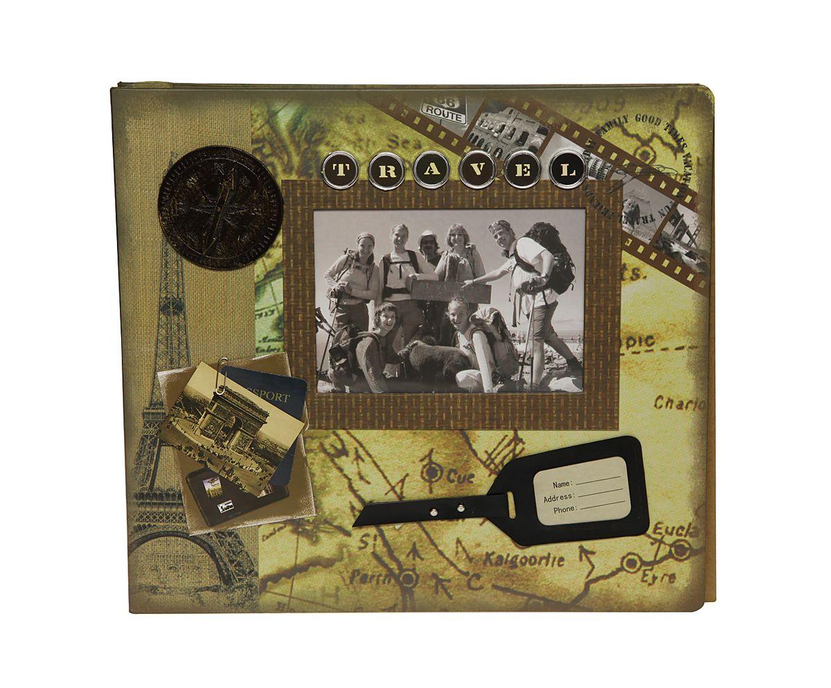 Фотоальбом магнитный HomeMaster Путешествие, 20 листов, цвет: мультиколор, 33 х 32 х 4JX-AM3215-35Оригинальный фотоальбом (ПУТЕШЕСТВИЕ) в стиле SCRAPBOOK. Имеет 20 магнитных листов под разноформатные фото. На лицевой стороне альбома также можно разместить одну фотографию. Упакован в подарочную коробку. Объемный декор, ручная работа.
