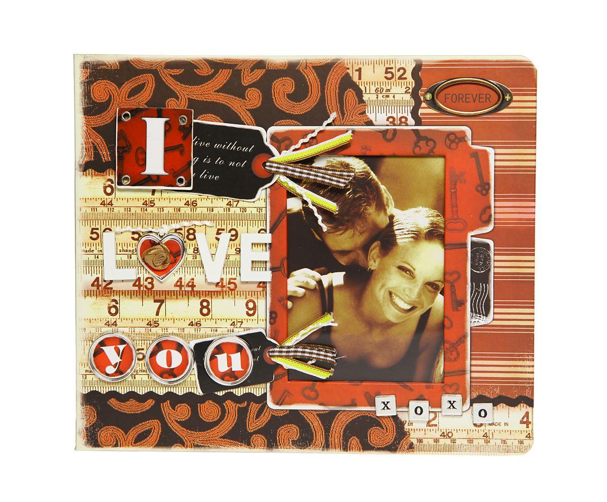 Фотоальбом HomeMaster, Любовь, цвет: мультиколор, 120 фото, 25 х 23 х 4 см. JX-AM2050JX-AM2050Оригинальный фотоальбом (ЛЮБОВЬ) имеет 30 листов на 120 фото 10х15 . На внутренних страницах альбома, есть возможность делать памятные записи. На лицевой стороне альбома также можно разместить одну фотографию. Объемный декор, ручная работа.