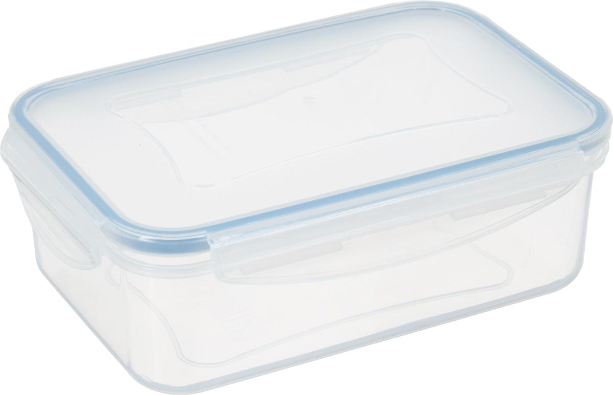 Контейнер для хранения продуктов Tescoma Freshbox, 1 л892064Контейнер Tescoma Freshbox подходит для переноски и хранения любых продуктов питания. Изделие абсолютно герметично, способно выдержать сильные перепады температур. Пластик и силиконовая вставка переносят экстремальные температурные режимы в диапазоне от -18°C до +110°C. Такой контейнер оптимально сохранит вкус, аромат и внешний вид продуктов. Подходит для холодильника, морозильной камеры, микроволновой печи и посудомоечной машины. Размер контейнера (с учетом крышки): 19 х 13 х 6,5 см. Объем контейнера: 1 л.
