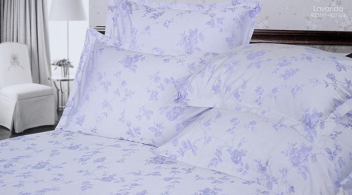 Комплект белья Verossa Lavanda, 2-спальный, наволочки 50х70, 70х70196365Комплект белья Verossa Lavanda выполнен из жаккарда с добавлением перкаля, ткани комбинированного переплетения. Тысячи нитей, переплетаясь друг с другом, образуют рельефный рисунок непосредственно в структуре ткани. Это королевская ткань для женщин, которые любят роскошь, предпочитают изысканные, но традиционные, высококачественные и натуральные материалы. Комплект состоит из пододеяльника на пуговицах, простыни и четырех наволочек с ушками по 3 см с трех сторон. Комплект имеет оригинальную упаковку и лаконичное строгое европейское оформление. Комплект белья Verossa Lavanda - традиционное белье высокого качества.