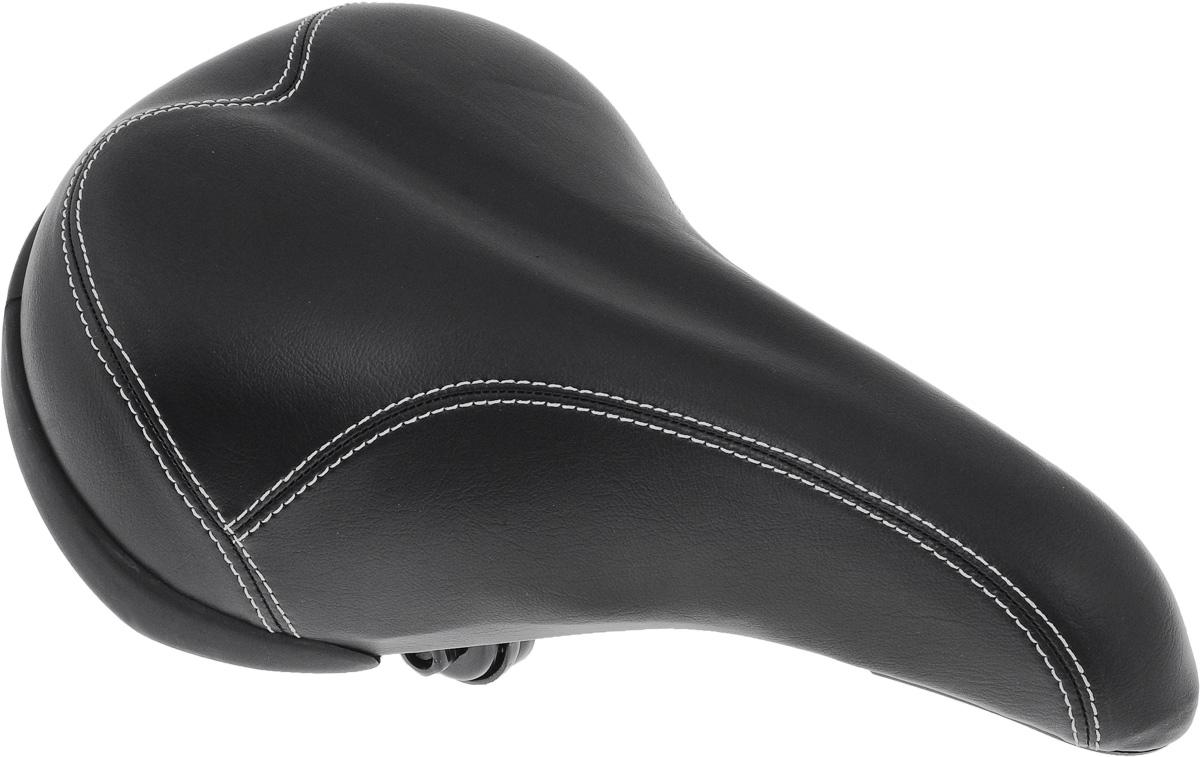 Седло для горного/городского велосипеда Xinda, с пружинами, 29 х 19,5 смXD-187-08S W/CLAMPСедло для горного/городского велосипеда Xinda обладает повышенным комфортом. Специальный наполнитель, выполненный из вспененного полимера, обеспечивает мягкость и сохранение формы седла. Пружины служат для смягчения толчков при езде по неровной поверхности. Верхняя часть выполнена из искусственной кожи. Размер седла: 29 х 19,5 см.