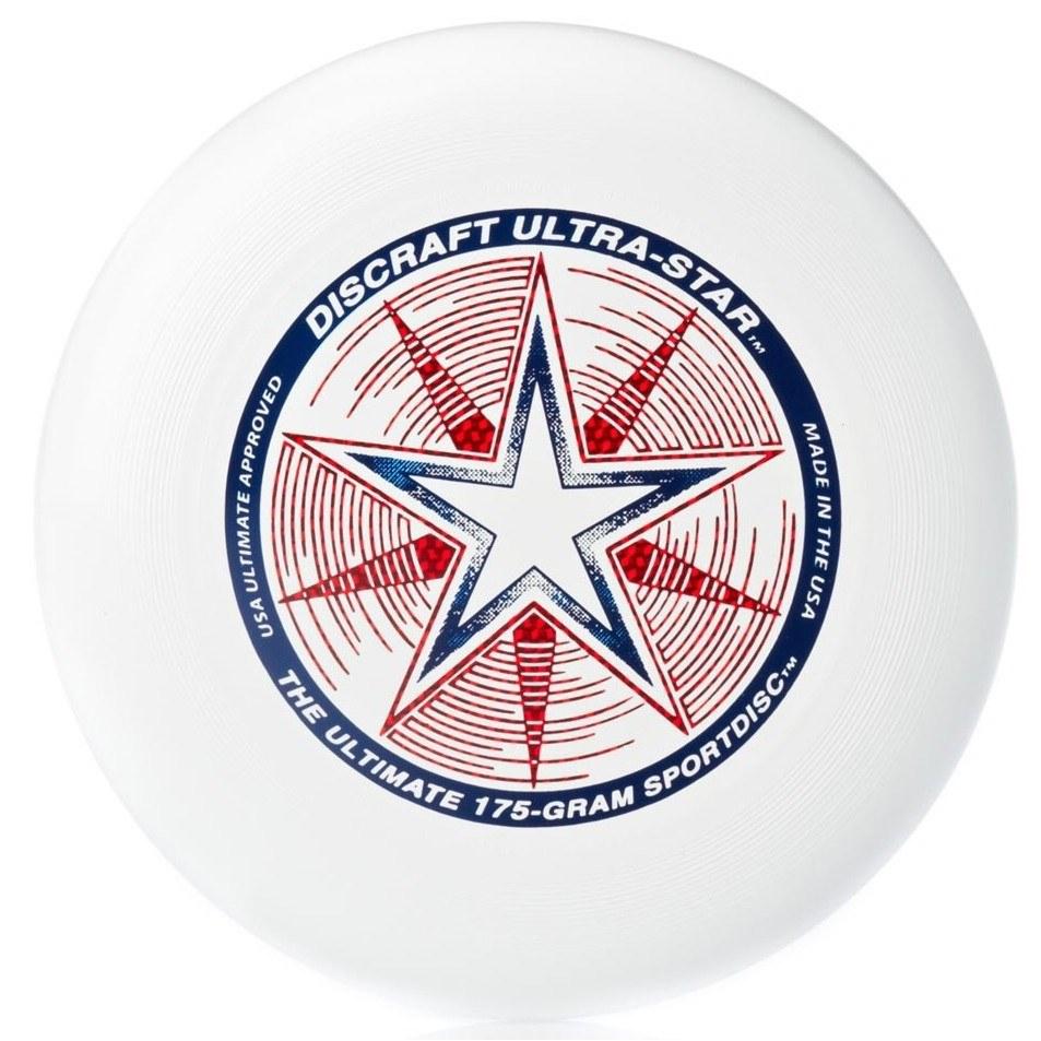 Discraft Летающий диск Ultra-Star цвет белый