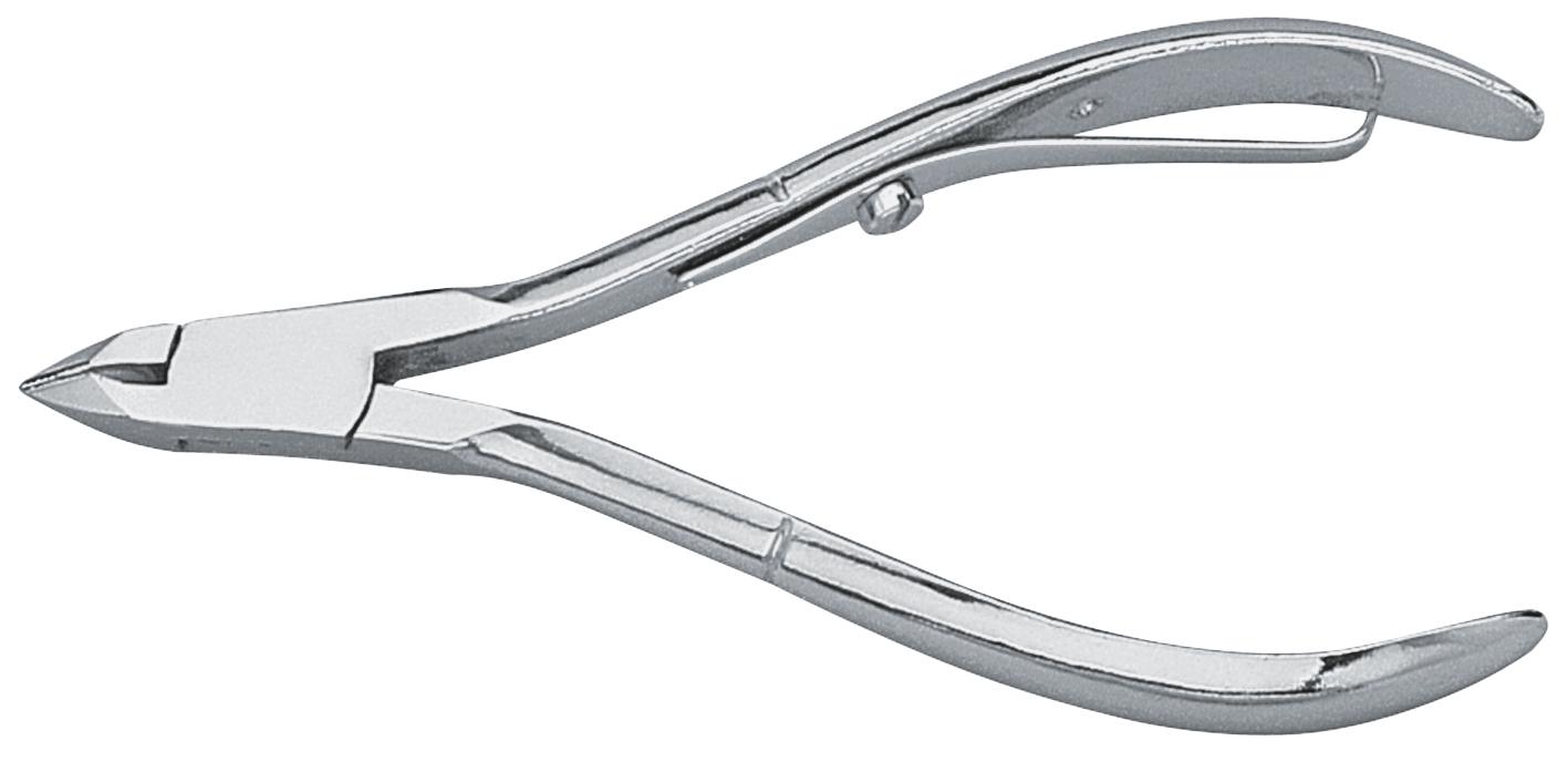 Becker-Manicure AYA Кусачки для кожи. 9363293632Кусачки для кожи изготовлены из высококачественной кованой стали. Длина кусачек 10 см, длина лезвия 6 мм, соединение внахлест. Никелированные. Хранить в сухом недоступном для детей месте. Срок годности не ограничен. Замена изделия не осуществляется в следующих случаях: - Использование не по назначению - Самостоятельный ремонт - Нарушение условий хранения