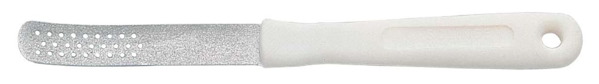 Becker-Manicure ERBE Пилка для ногтей ног. 20402040Пилка с крупным сапфировым напылением для шлифовки ороговевшей кожи стоп и ногтей ног. Длина пилки 18,5 см Хранить в сухом недоступном для детей месте. Замена изделия не осуществляется в следующих случаях: - Использование не по назначению - Самостоятельный ремонт - Нарушение условий хранения