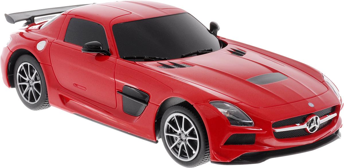 Rastar Радиоуправляемая модель Mercedes-Benz SLS AMG цвет красный масштаб 1:18 модель автомобиля bburago mercedes amg c coupe dtm масштаб 1 32