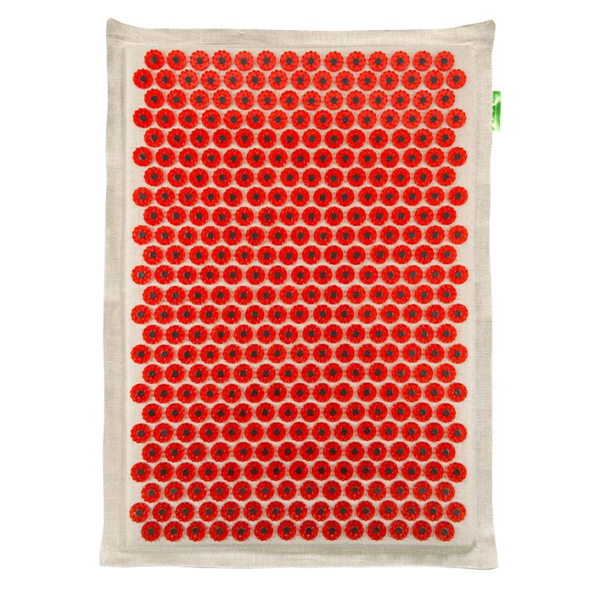 Массажер-иппликатор Тибетский на мягкой подложке, для чувствительной кожи, магнитный, цвет: красный, 41х60 см00-00000659Массажер-иппликатор Тибетский на мягкой подложке, для чувствительной кожи, магнитный, цвет: красный, 41х60 см