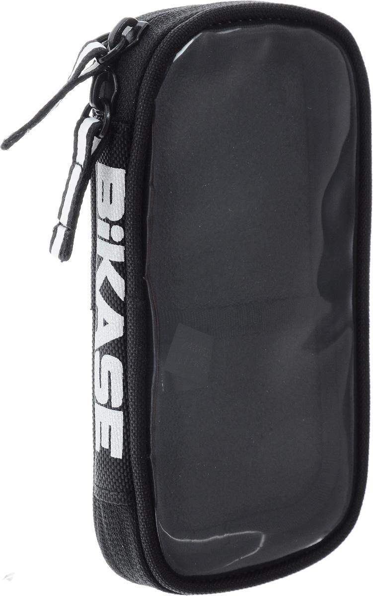 Чехол для iPhone 6 BiKase Handy Andy, 18,5 х 10 х 3 смPN1050Водонепроницаемый чехол BiKase Handy Andy позволяет носить с собой смартфон на велосипедных прогулках. Устанавливается на руль или раму помощи 2 съемных крепежных ремня. Чехол выполнен из высококачественного нейлона 840 DEN, оснащен съемной подкладкой внутри с карманом на резинке и прозрачной вставкой. Имеется светоотражающий логотип. Для смартфонов размером от 5.