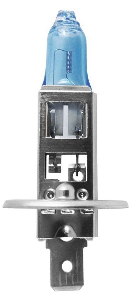 Лампа автомобильная галогенная Philips CrystalVision, для фар, цоколь H1 (P14,5s), 12V, 55W12258CVB1 (бл.)Автомобильная галогенная лампа Philips CrystalVision произведена из запатентованного кварцевого стекла с УФ фильтром Philips Quartz Glass. Кварцевое стекло Philips в отличие от обычного твердого стекла выдерживает гораздо большее давление смеси газов внутри колбы, что препятствует быстрому испарению вольфрама с нити накаливания. Кварцевое стекло выдерживает большой перепад температур, при попадании влаги на работающую лампу изделие не взрывается и продолжает работать. Лампы Philips CrystalVision имеют мощный белый свет с цветовой температурой 4300К. Разработаны для водителей, которым необходимо яркое освещение на дороге и важен индивидуальный стиль. Увеличенная светоотдача позволяет гораздо лучше различать дорожные знаки и препятствия. Лампы подходят для всех погодных условий, особенно ощутимый визуальный комфорт при поездках в ночное время. Автомобильные галогенные лампы Philips удовлетворят все нужды автомобилистов: дальний свет, ближний свет, передние...