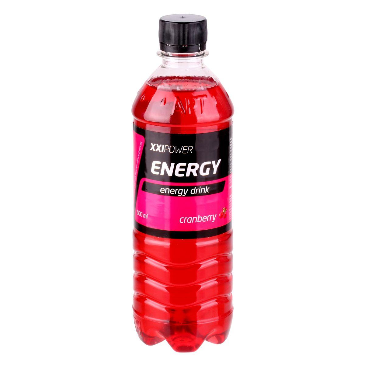 ХХI Power Напиток Энерджи, 0,5л4607062755679Напиток XXI Power Energy (L-Карнитин, Таурин, Гуарана + быстрые углеводы и витамины) Увеличивает выносливость,заряжает энергией Состав: Белок – 0 г, жиры – 0 г, углеводы – 35 г, L-Карнитин – 300 мг, таурин – 400 мг, экстракт Гуараны – 2000 мг, натрий – 220 мг, калий - 45 мг, магний – 3,6 мг, кальций – 90 мг, Калорийность – 144 ккал