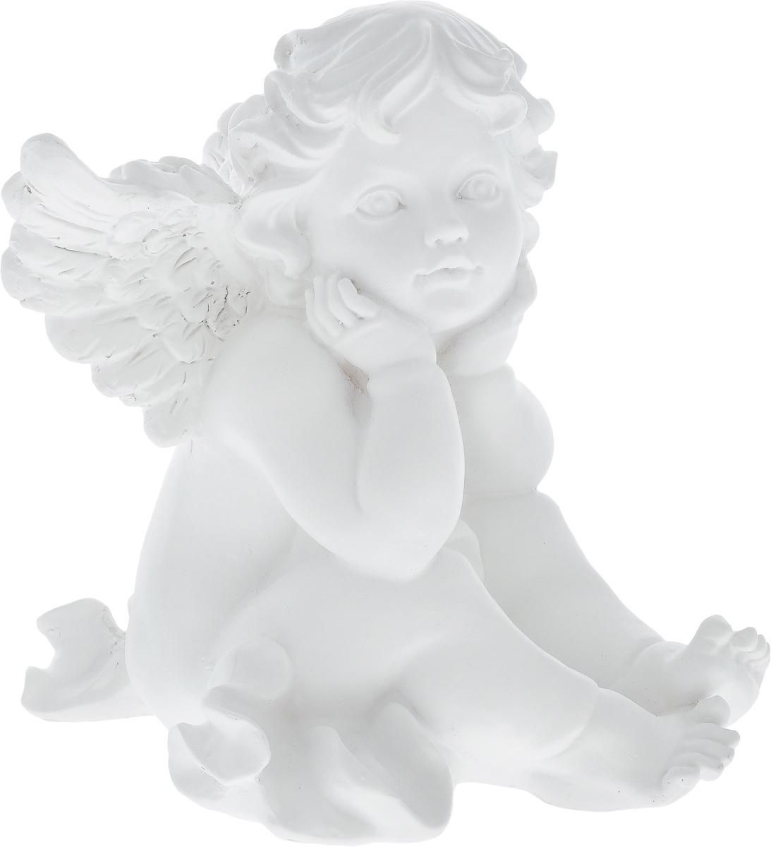 Фигурка декоративная Феникс-Презент Грезы ангела, высота 19,5 см40680Фигурка декоративная Феникс-Презент Грезы ангела, выполненная из полирезина, станет оригинальным подарком для всех любителей необычных вещей. Изделие имеет приятный дизайн. Изысканный сувенир станет прекрасным дополнением к интерьеру. Вы можете поставить фигурку в любом месте, где она будет удачно смотреться и радовать глаз.