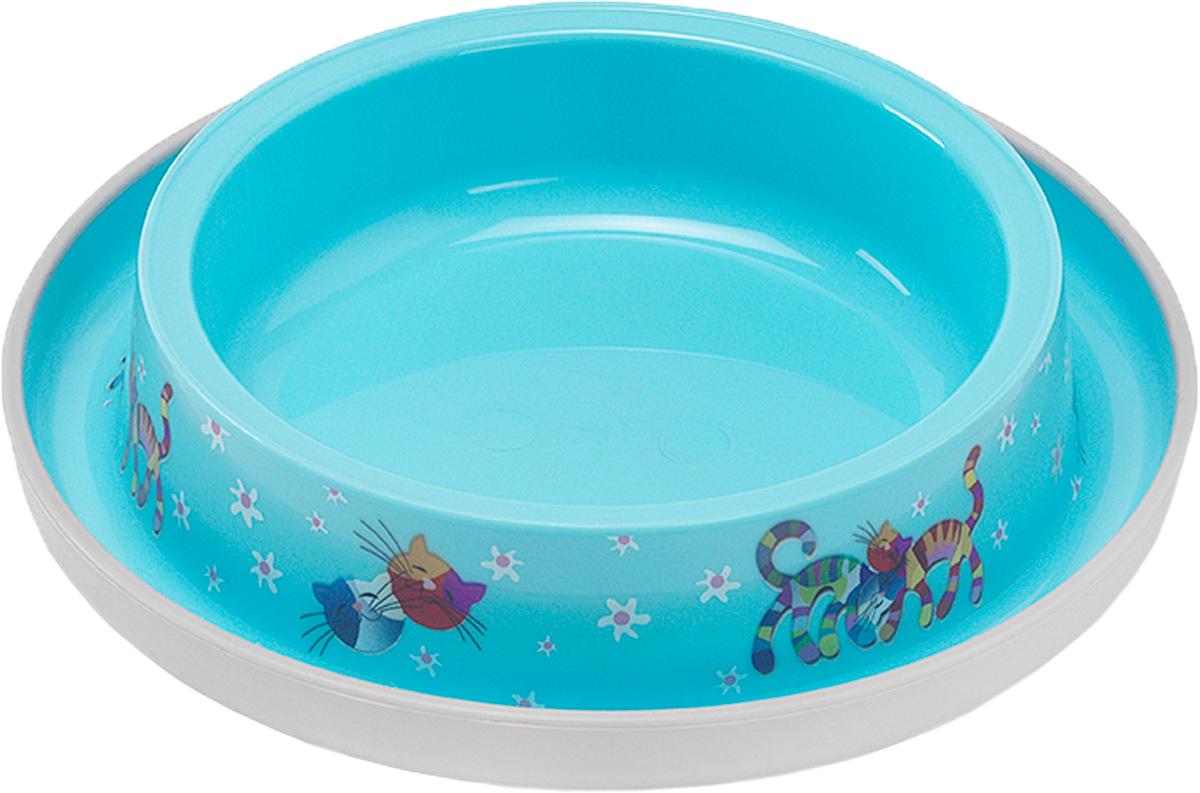 Миска Moderna Trendy Dinner. Друзья Навсегда, цвет: голубой, 16х3,2 см14H130181