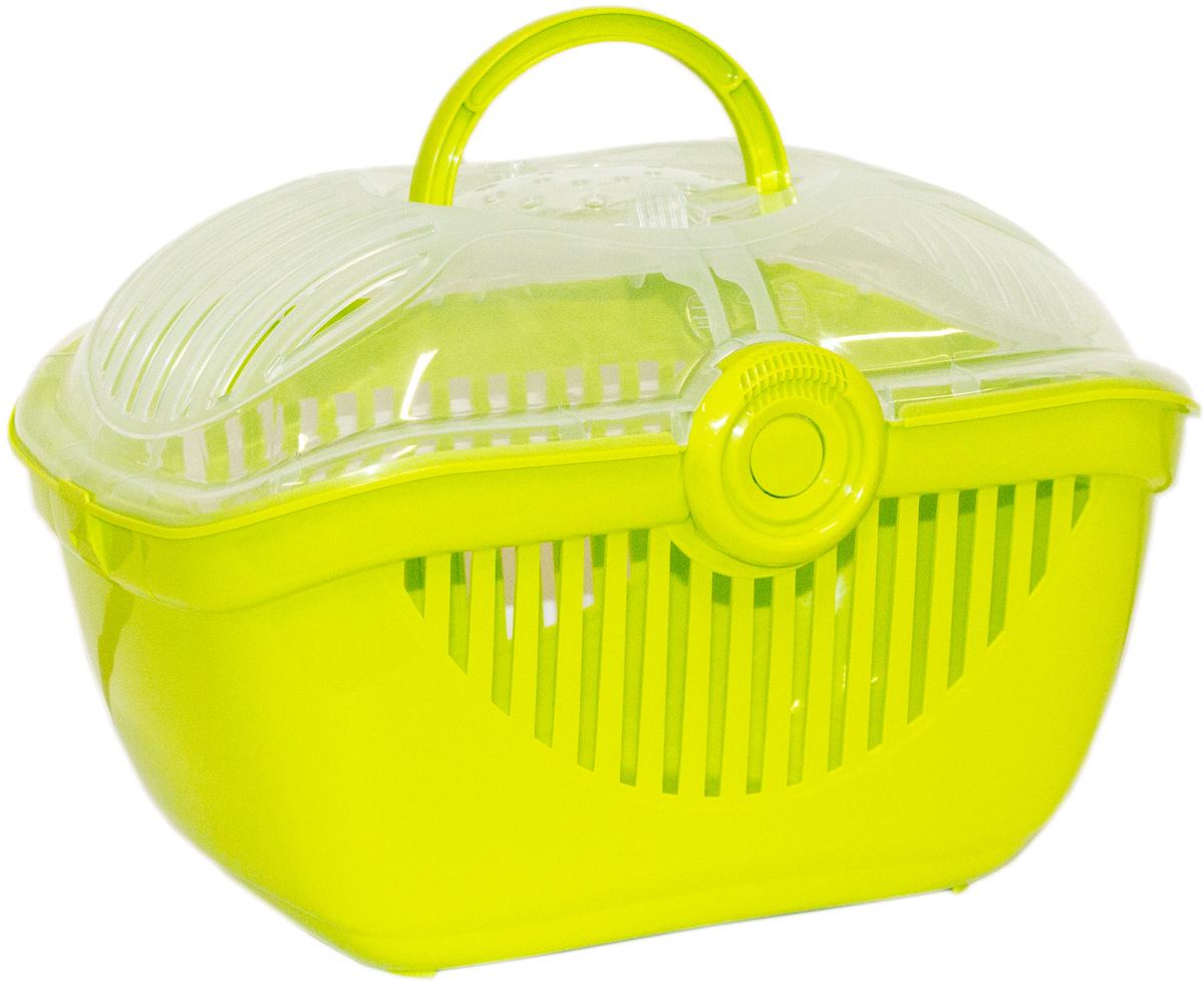 Переноска для кошек Moderna Top Runner, цвет: зеленый, 36х48х32 см14T800173
