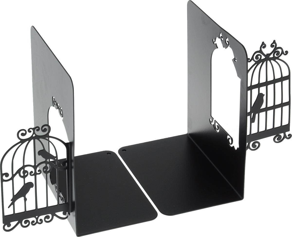 Подставка-ограничитель декоративная для книг Феникс-Презент Клетки для птиц, 2 шт40927Декоративная подставка-ограничитель для книг Феникс-Презент Клетки для птиц, изготовленная из металла, состоит из двух частей, с помощью которых можно подпирать книги с двух сторон. Изделия оформлены декоративными клетками для птиц. Между ограничителями можно поместить неограниченное количество книг. Подставка оснащена антискользящими подложками Декоративная подставка-ограничитель для книг Феникс-Презент Клетки для птиц - это не только подставка, но и интересный элемент декора, который ярко дополнит интерьер помещения. Размер подставок-ограничителей: 15 х 12 х 15 см. Комплектация: 2 шт.