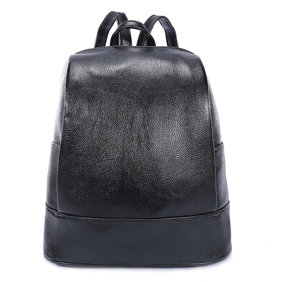 Рюкзак женский Orsa Oro, цвет: черный. D-180/59D-180/59Стильный женский рюкзак Orsa Oro выполнен из экокожи. Модель с одним отделением застегивается на молнию. Задняя сторона оформлена прорезным карманом на молнии, боковые стороны - плоскими карманами. Внутри изделие содержит 2 накладных кармана, карман под iPad и прорезной карман на молнии. Рюкзак оснащен удобными плечевыми лямками регулируемой длины, а также петлей для подвешивания.