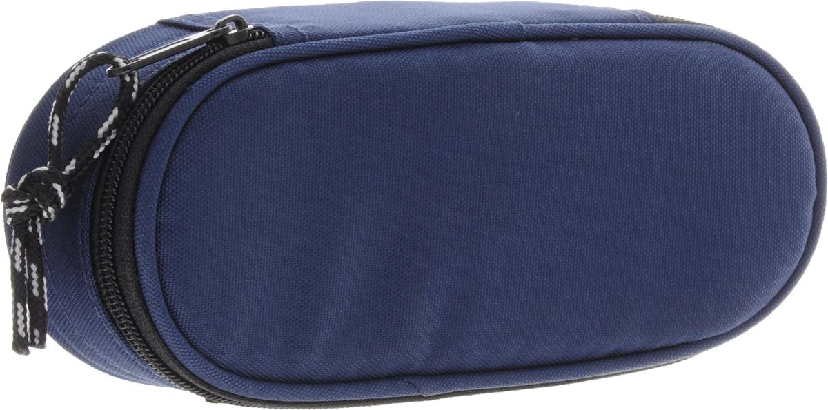 Herlitz Пенал-косметичка Case цвет синий72523WDПенал-косметичка CASE. Размеры 6х21.5х9см. Изготовлен из качественного полиэстера.