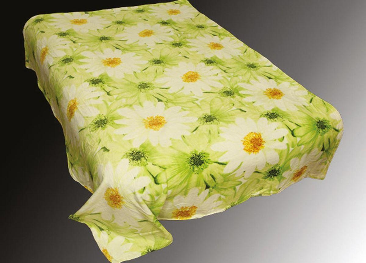 Плед ТД Текстиль Absolute, печатный, 180 х 230 см, цвет: белый, черный86047плотность 230 гр/м2