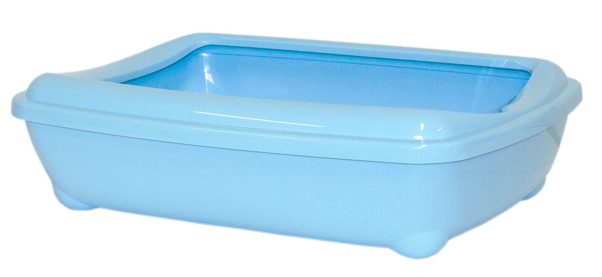 Туалет открытый Moderna Arist-O-Tray, цвет: голубой, 38х50х14 см14C192181