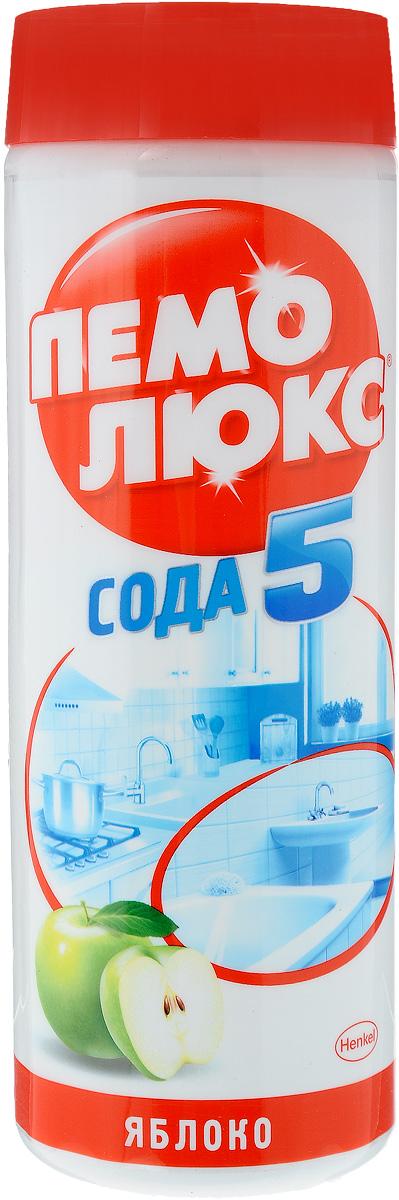 Универсальное чистящее средство Пемолюкс Яблоко, 480 г935071Уникальная формула Пемолюкс Яблоко с содой и мягким абразивом. Средство уничтожает бактерии, не содержит хлора и опасных химикатов. Подходит для чистки раковин (на кухне и в ванной комнате), плит, кафеля, ванн, унитазов и различных твердых поверхностей по всему дому. Товар сертифицирован.