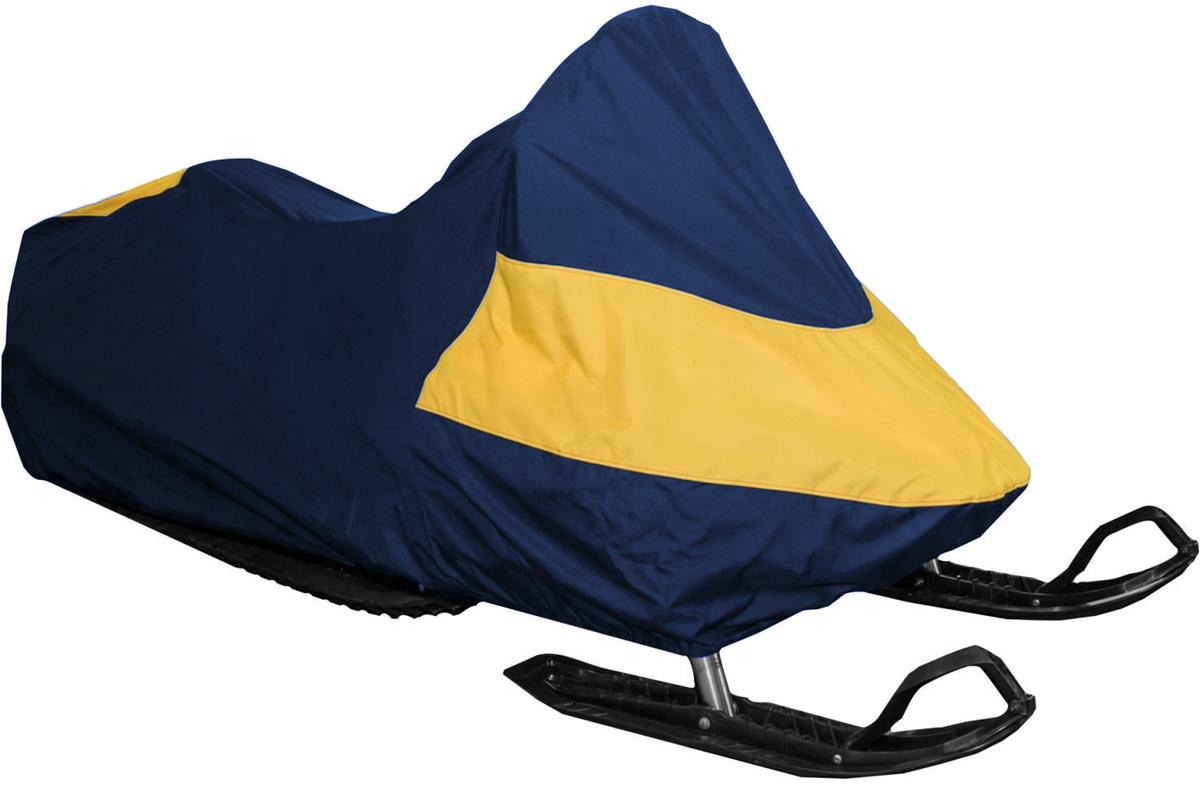 Чехол AG-brand, для снегохода Yamaha Venture Multi Purpose, цвет: черный, желтыйAG-YAM-SMB-MP-SC_черный, желтыйЧехол AG-brand предназначен для хранения снегохода. Он изготовлен из высокопрочной плотной тентовой ткани с высоким показателем водоупорности. Резинки по краям фиксируют чехол. Чтобы любое транспортное средство служило долгие годы, необходимо не только соблюдать все правила его эксплуатации, но и правильно его хранить. Необходимо создать условия для снижения воздействия этих негативных факторов. Именно для этого и предназначены чехлы. Чехол на кулиске для транспортировки и хранения входит в комплект.