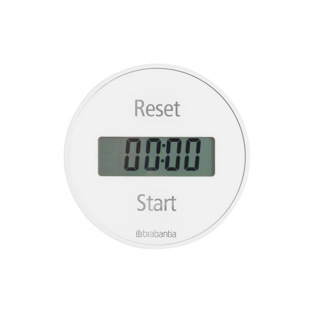 Кухонный таймер Brabantia Tasty Colours103681Кухонный таймер на магните с прямым и обратным отсчетом в диапазоне до 99 минут. Просто поверните внешнее кольцо прибора для установки времени, необходимого для приготовления Вашего любимого блюда. Звуковой сигнал известит Вас о готовности. Таймер легко и быстро устанавливается с помощью внешнего кольца - просто поверните; Удобное крепление - на магните; Функция таймера и секундомера; В комплект входит батарея CR2032; 5-летняя гарантия Brabantia.