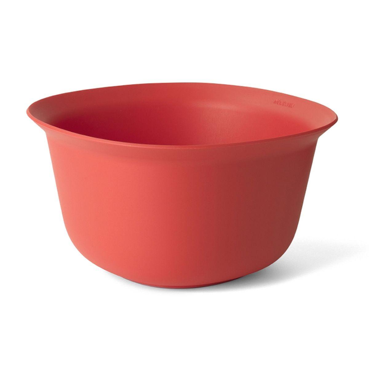 Салатник Brabantia Tasty Colours, цвет: красный, 3,2 л115610Вместительный салатник Brabantia Tasty Coloursизготовлен из высококачественных материалов. Может использоваться для смешивания ингредиентов, замешивания теста. Специальная форма краев позволяет удобно и аккуратно разливать жидкие ингредиенты. Нескользящее основание обеспечивает отличную устойчивость. Салатник Brabantia Tasty Colours станет полезным и практичным дополнением к коллекции ваших кухонных аксессуаров.