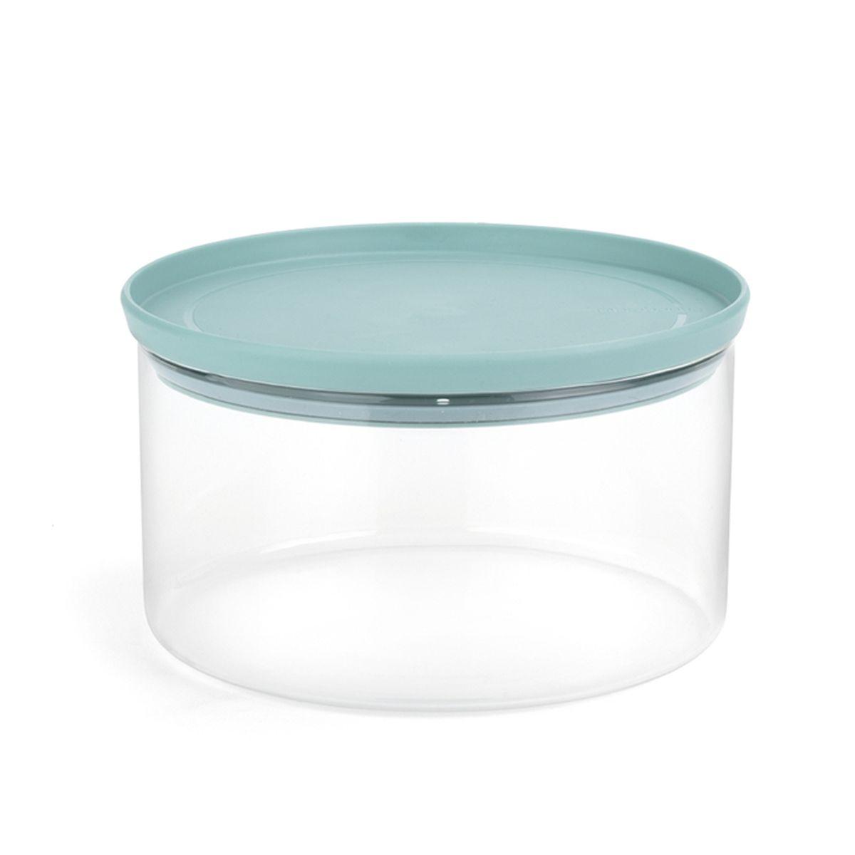 Модульный стеклянный контейнер Brabantia110641Сохранит свою свежесть – герметичная крышка. Экономия места на кухне – банки составляются одна на другую; Легко моется – можно мыть в посудомоечной машине; Прозрачные стенки позволяют видеть содержимое и его объем; Гарантия 10 лет.