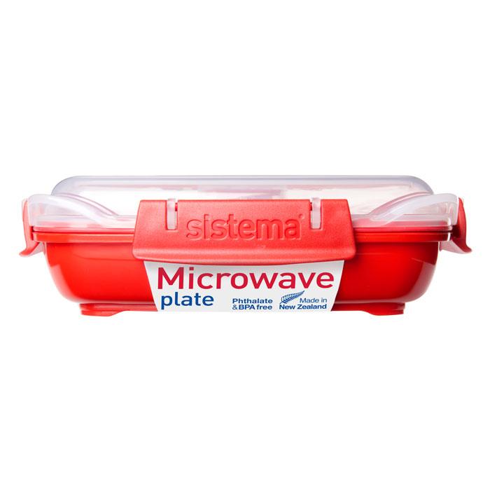 Контейнер низкий Sistema Microwave, 440 мл1104В контейнере Microwave Вы с легкостью сможете не только разогреть пищу в СВЧ, но и приготовить ее. Нет ничего более полезного, чем приготовление на пару в контейнерах Sistema. Просто налейте воды в базовый контейнер, поместите пищу на специальную решетку, откройте на крышке клапан пароотвода и поместите все в микроволновую печь. Через несколько минут Вы можете насладиться полезной пищей. Крышка с силиконовой прокладкой герметично закрывается что помогает дольше сохранить полезные свойства продуктов. Контейнер оснащен фиксирующимися зажимами – клипсами, которые при необходимости можно заменить. Можно мыть в посудомоечной машине.