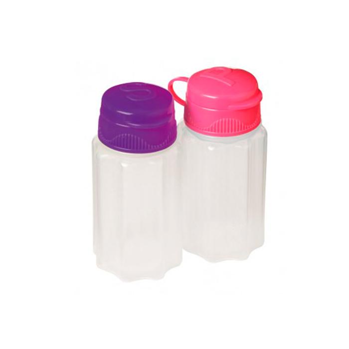 Набор солонка и перечница Sistema TO-GO 35мл (2шт)21473Контейнер To Go создан для людей ведущих активный образ жизни. Контейнеры удобны для хранения и транспортировки соли и переца. Можно мыть в посудомоечной машине.