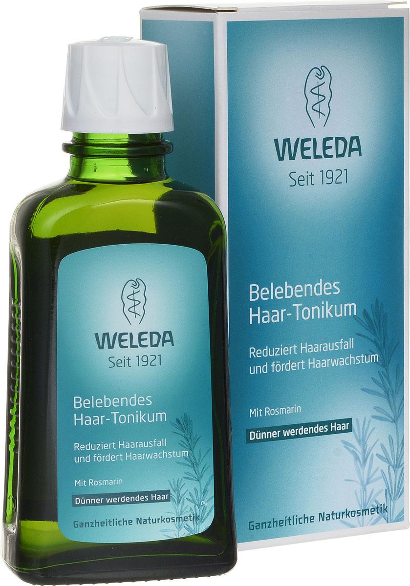 Weleda Средство для роста волос, укрепляющее, с розмарином, 100 мл9571Укрепляющее средство Weleda для роста волос с розмарином уменьшает выпадение волос и стимулирует рост. Средство Weleda с маслом розмарина и ценными экстрактами очитка и листьев хрена улучшает питание корней волос, уменьшает выпадение и стимулирует естественный рост волос, укрепляет волосы и поддерживает здоровье кожи головы. Свежий аромат розмарина придает продукту особенную нотку. Подходит для восстановления волос после родов и кормления грудью. Не содержит ингредиентов на основе минеральных масел, а так же синтетических ароматизаторов, красителей и консервантов. Не содержит силикона. Протестировано дерматологами. Товар сертифицирован.
