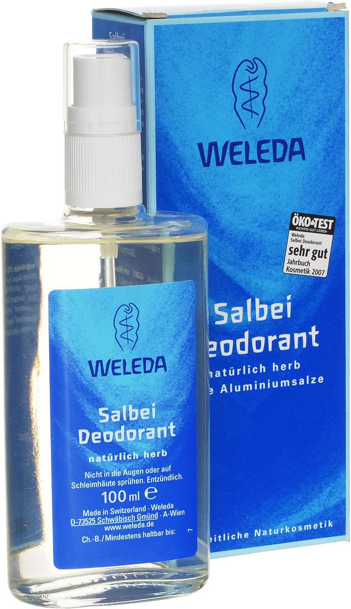 Weleda Дезодорант с шалфеем, 100 мл9927Яркий травяной и слегка пряный аромат с нотами шалфея, тимьяна и розмарина создан на основе чистейших эфирных масел. Он тонизирует и приводит мысли в порядок. Комплекс эфирных масел оказывает мягкое освежающее действие. 100% натуральный дезодорант благодаря особой растительной формуле предотвращает размножение бактерий и появление неприятного запаха, не закупоривая поры. Обеспечивает бережный уход и защиту, поддерживая естественные регулирующие функции кожи. Не оставляет следов на одежде. Создает приятное ощущение свежести Действуtт исключительно благодаря природным компонентам Не закупоривают поры и не препятствуют дыханию кожи Cодержат только натуральные компоненты Без солей алюминия, парабенов и фталатов Без синтетических ароматизаторов, красителей, консервантов и компонентов животного происхождения Неаэрозольный спрей в стеклянном флаконе Способ применения: распылять дезодорант на расстоянии 10-15 см на сухую и чистую кожу подмышечных впадин. При необходимости в течение дня можно...